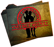 Secret Agent Art and Design Logo